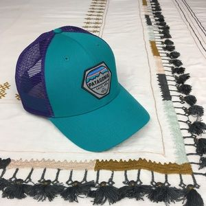 Patagonia Accessories - NEW!   Patagonia   Fitz Roy Hex Trucker Hat 4b989d8ee978